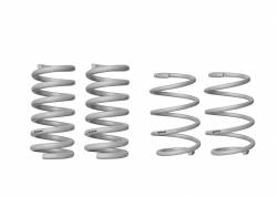 Whiteline Suspension - 2015 - 2017 Mustang Whiteline Front and Rear Coil Spring- Lowering Kit