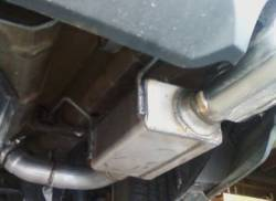 SpinTech Performance Mufflers - 2011 V-6 Mustang SpinTech 2.5in Axle Back