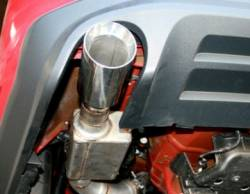 SpinTech Performance Mufflers - 2011 V-8 Mustang 5.0 SpinTech 3in Axle Back