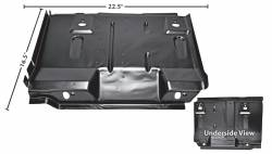 Floor Pan - Seat Platforms - Dynacorn - 71 - 73 Mustang Coupe and Fastback Dynacorn Left Seat Platform