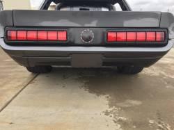 GTRS | MUSTANG PARTS - 64 - 66 Mustang GTRS Custom Fiberglass Rear Valance