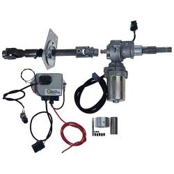 Steering - Conversion Kits - Miscellaneous - 67 Early Mustang Electric Power Steering Conversion Kit - Long Shaft Steering Box