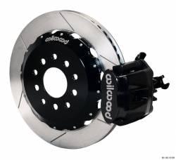 Disc Brakes - Brake Kits - Wilwood Engineering Brakes - 05 - 09 Mustang Wilwood Rear Brake Kit, BLACK Clpr