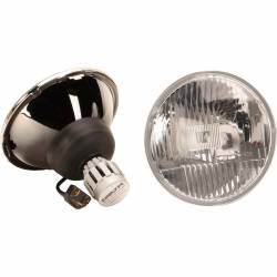 "Electrical & Lighting - Headlights - Delta Lighting Technology - 65 - 68 and 70 - 73 Mustang 7"" LED Headlight Kit, Pair"