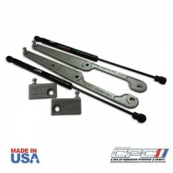 Hood - Hinge - California Pony Cars - 2015 - 2017 Mustang GT / Ecoboost Hood Lift Kit