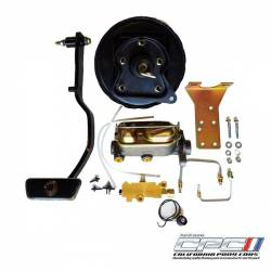 Master Cylinders & Boosters - Booster & Master Kits - California Pony Cars - 1967 - 1970 Mustang Power Brake Conversion Kit (Front Disc, Rear Drum)