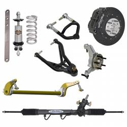 Suspension - Shocks & Struts - Total Control Products - 1964 - 1970 Mustang Ultimate Pro-Touring System for Front Clip