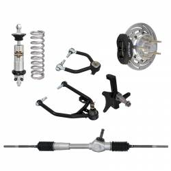 Suspension - Shocks & Struts - Total Control Products - 1964 - 1970 Mustang Drag Race System for Front Clip