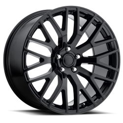 Wheels - 20 Inch - Voxx - 05 - Current Gloss Black Mustang Performance Wheel, 20 X 10, 7.36 bs, 48 offset