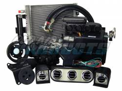 A/C & Heating - A/C Systems & Upgrades - Old Air Products - 65 - 66 Mustang Hurricane A/C System for 289 or 260 w/ alternator