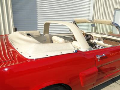 1965 Mustang Convertible with Styling Bar Cover