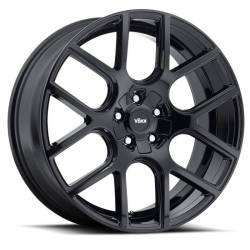 "Wheels - 20 Inch - Voxx - 05 - Current Mustang Lago Gloss Black Wheel 20 X 9.5 , 6.80"" bs, EACH"