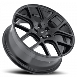 "Voxx - 05 - Current Mustang Lago Gloss Black Wheel 20 X 9.5 , 6.80"" bs, EACH - Image 2"