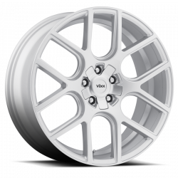 "Wheels - 20 Inch - Voxx - 05 - Current Mustang Lago Silver Wheel 20 X 9.5 , 6.80"" bs, EACH"