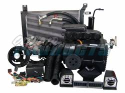 A/C & Heating - A/C Systems & Upgrades - Old Air Products - 67 - 68 Mustang 289 or 260 V8 w/o PS Hurricane AC & Heat Complete Pkg, Uses Original Heater Control