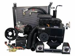 Old Air Products - 67 - 68 Mustang 390 V8 Hurricane AC & Heat Complete Pkg, Uses Original Heater Control
