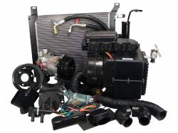 Old Air Products - 1968 Mustang 6 Cyl AC Unit Complete Package for Factory AC Car - Electronic Controls