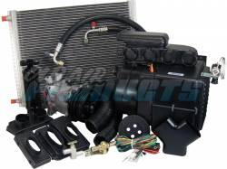 Old Air Products - 1971 - 1973 Mustang 6 Cyl AC Unit Complete Package- Electronic Controls, Integrated
