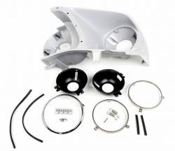 All Classic Parts - 1969 Mustang Headlight Bucket Assembly (LH)