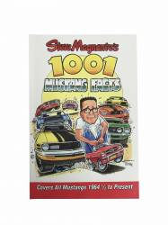 Accessories - Literature - Scott Drake - 1001 Mustang Facts Book