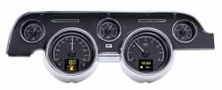 Dakota Digital Gauges & Accessories - 67 - 68 Mustang HDX Dakota Digital Instruments, Black Alloy Gauge Face