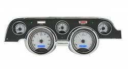 Dakota Digital Gauges & Accessories - 67 - 68 Mustang VHX Instruments, Silver Alloy Gauge Face