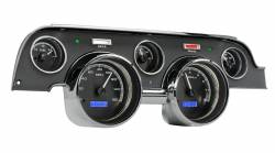 Gauges - Aftermarket Gauges - Dakota Digital Gauges & Accessories - 67 - 68 Mustang VHX Instruments, Black Alloy Gauge Face