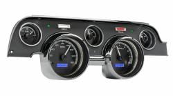 Dakota Digital Gauges & Accessories - 67 - 68 Mustang VHX Instruments, Black Alloy Gauge Face