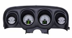 Gauges - Aftermarket Gauges - Dakota Digital Gauges & Accessories - 69 - 70 Mustang HDX Dakota Digital Instruments, Silver Alloy Gauge Face