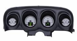 Gauges - Aftermarket Gauges - Dakota Digital Gauges & Accessories - 69 - 70 Mustang HDX Dakota Digital Instruments, Silver Alloy Gauge Face