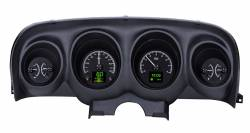 Gauges - Aftermarket Gauges - Dakota Digital Gauges & Accessories - 69 - 70 Mustang HDX Dakota Digital Instruments, Black Alloy Gauge Face