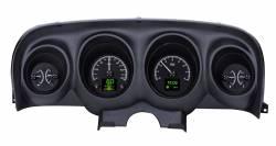 Dakota Digital Gauges & Accessories - 69 - 70 Mustang HDX Dakota Digital Instruments, Black Alloy Gauge Face
