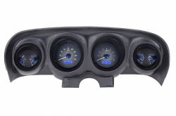 Gauges - Aftermarket Gauges - Dakota Digital Gauges & Accessories - 69 - 70 Mustang VHX Instruments, Carbon Fiber Look Gauge Face