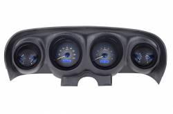 Gauges - Aftermarket Gauges - Dakota Digital Gauges & Accessories - 69 - 70 Mustang VHX Instruments, Carbon Fiber Look Gauge Face