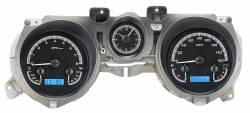 Dakota Digital Gauges & Accessories - 71 - 73 Mustang VHX Instruments, Black Alloy Gauge Face