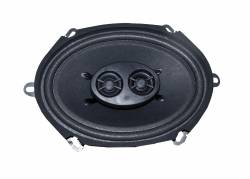 Audio - Speakers - Scott Drake - 1967 - 1968 Mustang Dual Voice Coil Dash Speaker, No AC