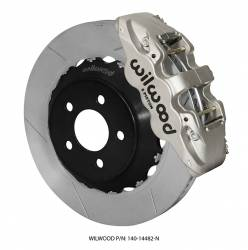 Disc Brakes - Brake Kits - Wilwood Engineering Brakes - 2015 - Present Mustang Wilwood Road Race Front Disc Brake Kit