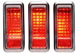 Electrical & Lighting - Tail Lights - Dakota Digital Gauges & Accessories - 1967- 68 Mustang LED Replacement Tail Light Kit
