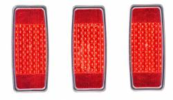 Electrical & Lighting - Tail Lights - Dakota Digital Gauges & Accessories - 1969 Mustang LED Replacement Tail Light Kit