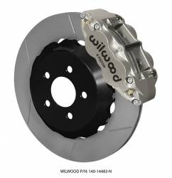 Disc Brakes - Brake Kits - Wilwood Engineering Brakes - 2015 - Present Mustang Wilwood Road Race Rear Disc Brake Kit