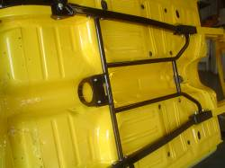 Shown Installed with Optional Heidts Chassis Stiffener Kit with Drive Shaft Safety Loop