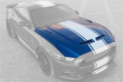 Shelby Performance Parts - 15 - 17 Mustang GT, V6, Ecoboost 50th Anniversary Shelby Super Snake Hood