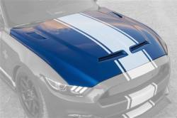 Shelby Performance Parts - 15 - 17 Mustang GT, V6, Ecoboost 50th Anniversary Shelby Super Snake Hood - Image 3