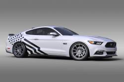 2005-2009 Mustang Parts - 2005-2009 New Products - OG Innovations - Universal Mustang Vinyl Graphics - Starfighter