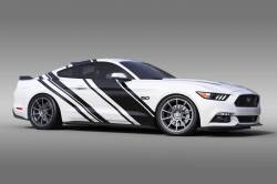 2015-2017 Mustang Parts - 2015-2017 New Products - OG Innovations - Universal Mustang Vinyl Graphics - Rally Stripe 2.0