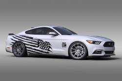 2015-2017 Mustang Parts - 2015-2017 New Products - OG Innovations - Universal Mustang Vinyl Graphics - Battleborn