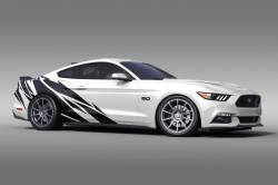 2015-2017 Mustang Parts - 2015-2017 New Products - OG Innovations - Universal Mustang Vinyl Graphics - Warlord