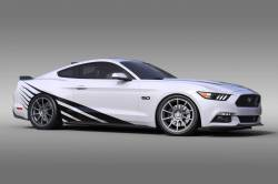 2015-2017 Mustang Parts - 2015-2017 New Products - OG Innovations - Universal Mustang Vinyl Graphics - Rising Sun