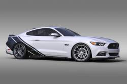 OG Innovations - Universal Mustang Vinyl Graphics - Rally Stripe