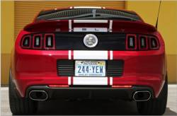 Shelby Performance Parts - 13 - 14 Mustang Shelby GT500 Super Snake Borla Exhaust (axle back set)